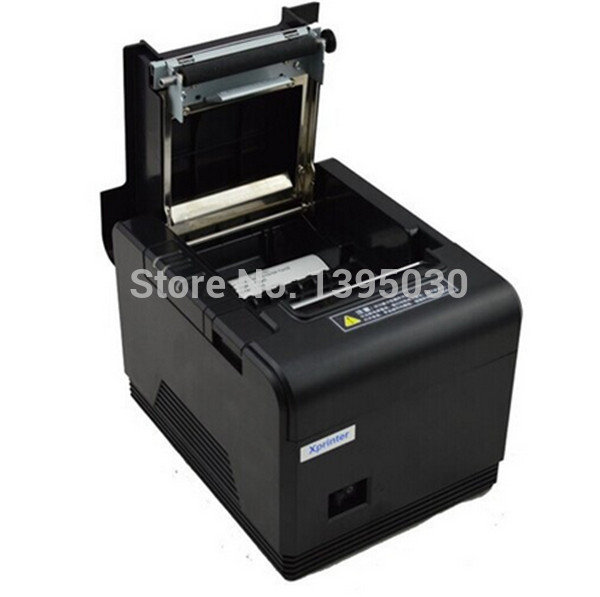 8pcs/lot  New Auto-cutter USB 80mm Thermal Receipt Printer Ethernet POS Thermal Printer Ticket Printer LAN Kitchen Printer 300 mm s print speed black 80mm pos thermal receipt printer auto cutter cut windows2000 xp vista 8 10 linux usb ethernet