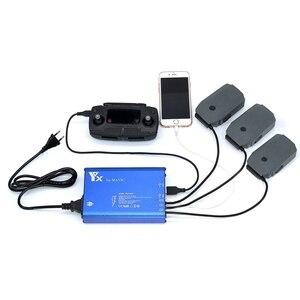 Mavic Pro/Platina 5 em 1 Carregador de Bateria Paralelo Mavic Hub De Carga Rápida Inteligente Para DJI Pro Zangão