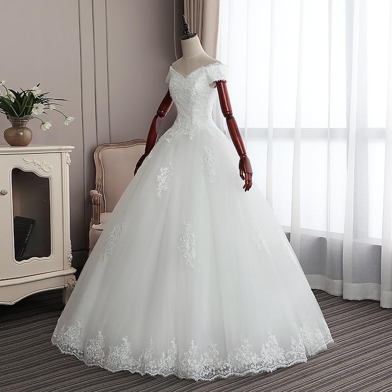Simple Wedding Dresses 2019 Elegant V Neck Wedding Gowns