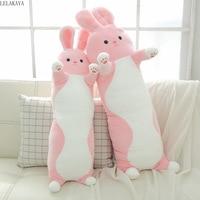 2size Cartoon Animals Long Rabbit Plush Pillows Soft Stuffed Baby Lovely Sleeping Sofa Cushion Decoration Nap Head Pillow Toy