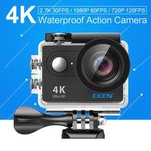 EKEN H9/H9R Ultra HD 4 K 25FPS Wifi Action Camera 30 M étanche 2 pouce Écran 1080 p sous-marine aller Casque extreme pro sport cam