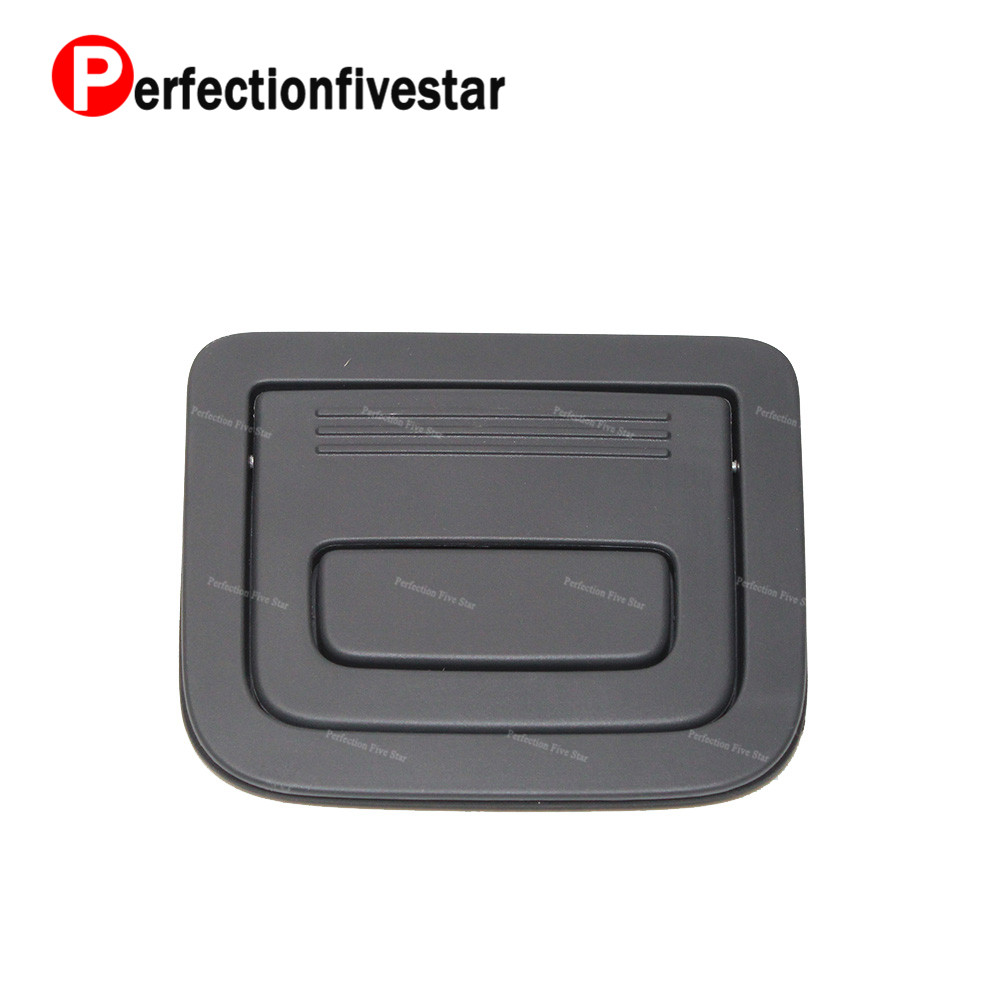Rear Luggage Felt Pad Handle Trunk Liner Carpet Cover Clasp Black For A3 A4 A5 A6 A7 A8 Q3 Q5 Q7 TT RS7 For Touare 8K9 861 697