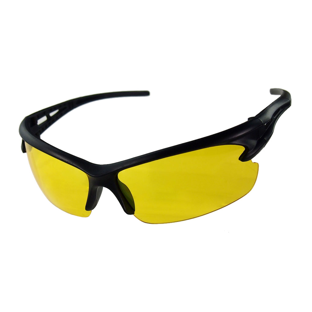 Night-Driving-Glasses Goggles Yellow For Lens Hot