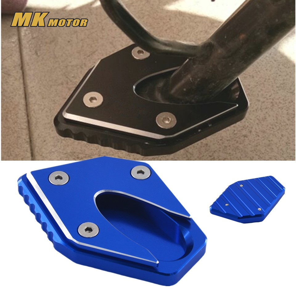 Motorcycle For Suzuki GW250 GW250S GW250F GSX250R DL250 CNC Kickstand Side Stand Enlarger Extension Plate Pad