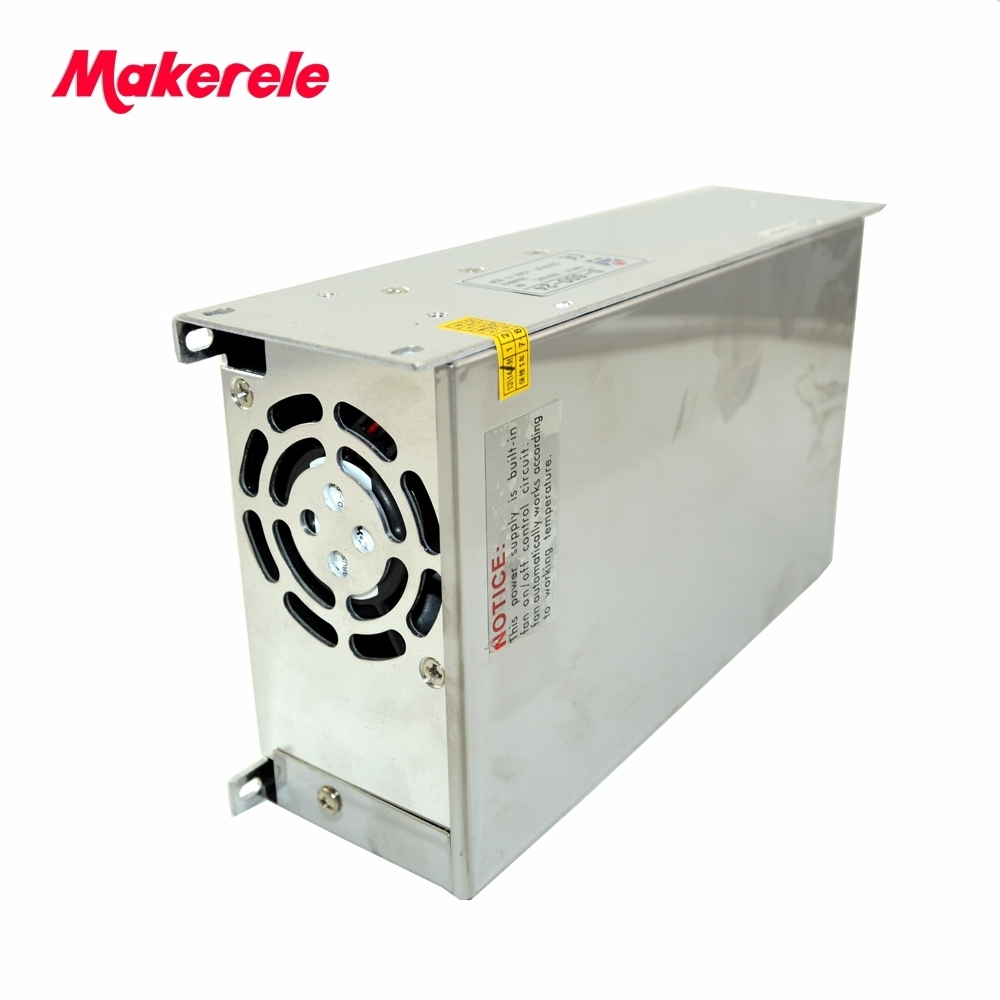 S-600-36 CE Approved SMPS Led Switching Power Supply 36V 16.6A 600W 110//220Vac to dc 36v