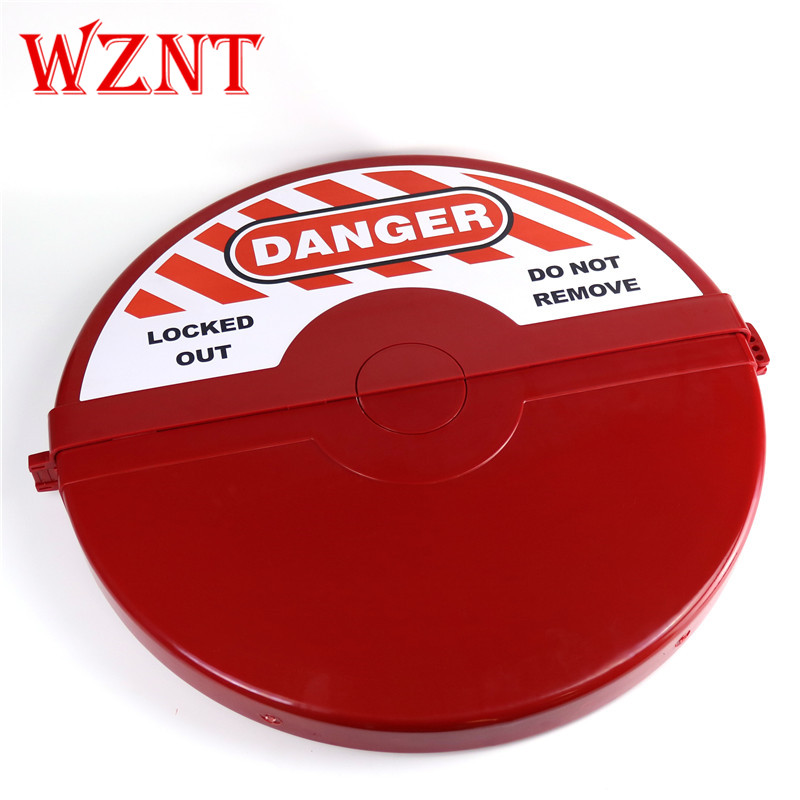 NT-G07 457mm to 635mm 18 to 25 RED Large Safety Gate Valve lockoutNT-G07 457mm to 635mm 18 to 25 RED Large Safety Gate Valve lockout