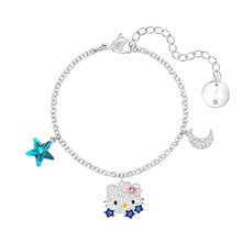 High quality SWA cute cat Star Bracelet with moon lady Bracelet accessories цена и фото