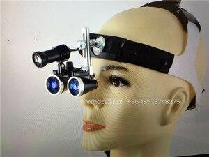 Image 2 - Nha Khoa 2.5X Phẫu Thuật Ống Nhòm Y Tế Kính Lúp Có Đèn LED Đầu 3.5X
