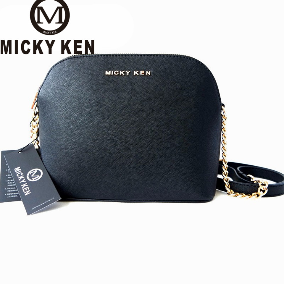 MICKY KEN  brand 2017 designer Handbags lady Shell Bags Cross women messenger bags shoulder bolsa feminina sac a main 225#