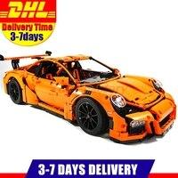 2017 New LEPIN 20001 20001B 2704Pcs Technic Series Race Car Model Building Kits Blocks Bricks Toy