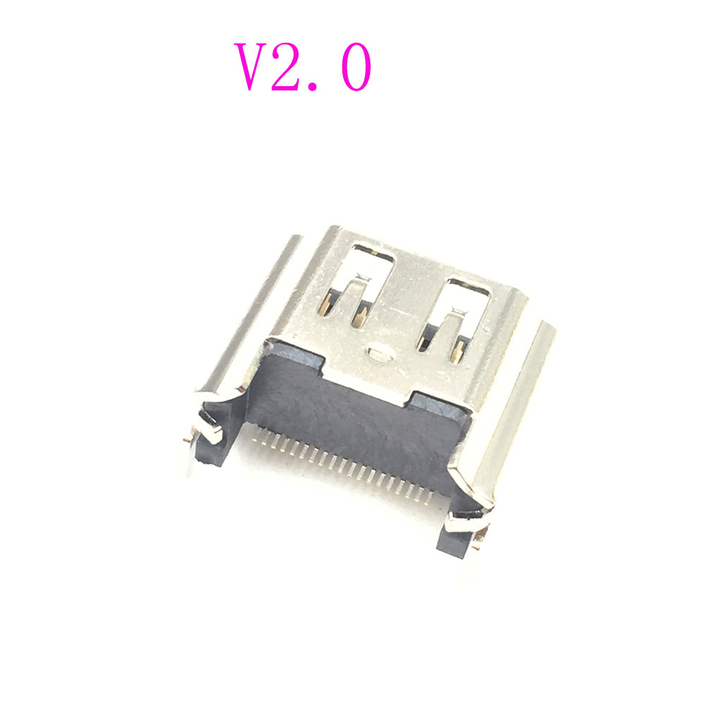 V2 CUH-1001A CUH-1115A For PS4 HDMI Port Socket Interface Connector For PS4 Repair Parts repair parts replacement laser drive module for ps4 black silver