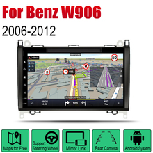 For Mercedes Benz W906 2006~2012 NTG Car Android Player Radio DVD GPS Navigation Displayer System Audio Video In Dash Multimedia for ntg4 0 ntg 4 5 ntg 4 7 ntg 5s1 tv free video in motion