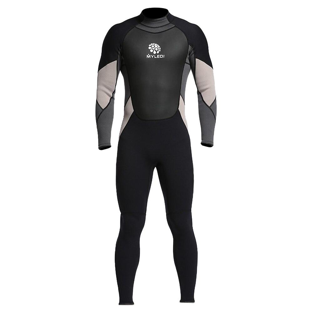 Mens 3mm Neoprene Scuba Dive Wetsuit Back Zip Full Body Wetsuit Swimming Surfing Diving Equipment Snorkeling Suit JumpsuitMens 3mm Neoprene Scuba Dive Wetsuit Back Zip Full Body Wetsuit Swimming Surfing Diving Equipment Snorkeling Suit Jumpsuit