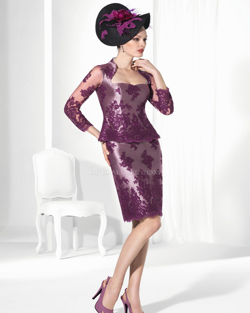 Purple Mother Dress