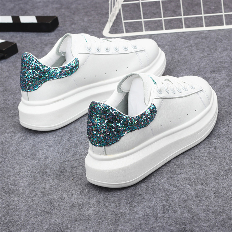 New Fashion Vulcanize Shoes Trainers Women Sneakers Casual Shoes Basket Femme PU Leather Tenis Feminino Zapatos Mujer Plataforma 73