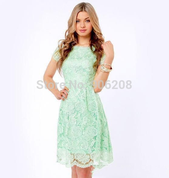 Popular Lime Green Homecoming Dresses-Buy Cheap Lime Green ...