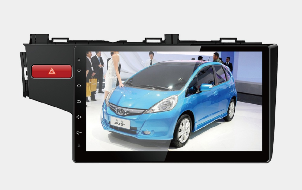 8 Core, 2G RAM, 32G ROM, 10.1 inch Android 6.0 Car GPS Navigation System Media Stereo for Honda Fit 2014 2015 2016
