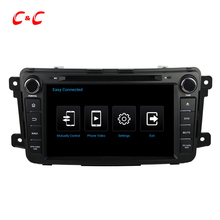 1024×600 Quad Core Android 4.4 Car DVD Player for MAZDA CX-9 with GPS Radio Built-in DVR, Support OBD Mirror Link SWC