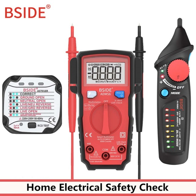 Outstanding Bside Avd06X Non Contact Voltage Detector Ac 12 1000V Circuit Tester Wiring Digital Resources Antuskbiperorg