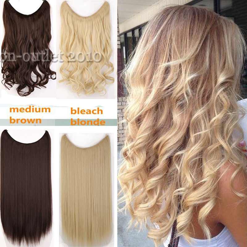 Long curly piece secret wire hair piece hair extensions full head long curly piece secret wire hair piece hair extensions full head one piece 20inch wavy natural hairpiece good gifts brown gray on aliexpress alibaba pmusecretfo Image collections