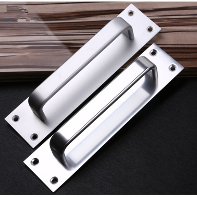 200mm Sliding doors Surface mounted handle Move the door handle Aluminum Alloy Fire passage doors security : passage doors - pezcame.com