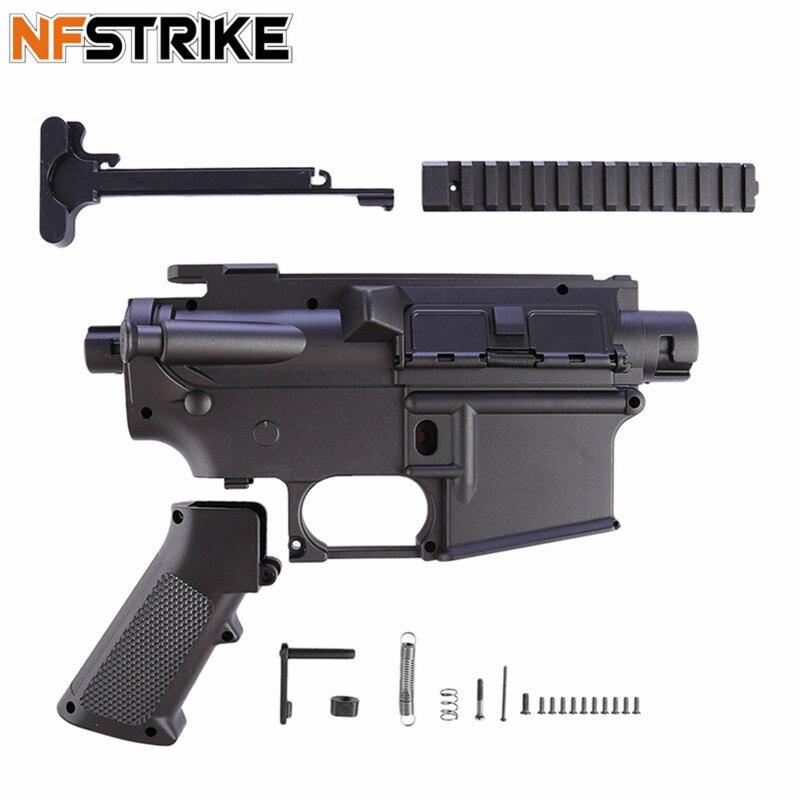 NFSTRIKE D'origine Émetteur Récepteur Pour Jinming 8/M4A1 D'eau Bullet Émetteur Modifié Modification Remplacement-Noir