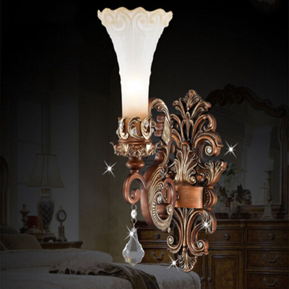 2017 New Products European Style Crystal Wall Lamp E14 Indoor Lighting Living Room Dining Room Bedroom Vintage Wall Sconces a1 master bedroom living room lamp crystal pendant lights dining room lamp european style dual use fashion pendant lamps