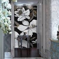 Decoração de parede de mosaico de vidro de flor de jade de gelo personalizado|decoration pattern|decorative decorative|decoration art -