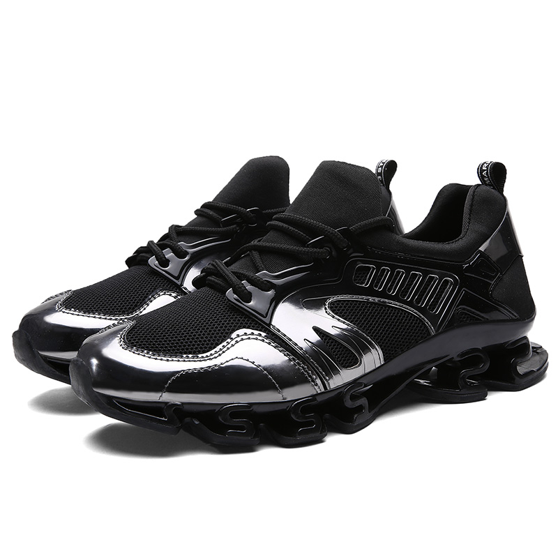 DQG Cushioning Mäns Running Shoes Kvinnor Andas Mesh Male Sports Shoes Flat Jogging Runners Sneakers Outdoor Walking Shoes