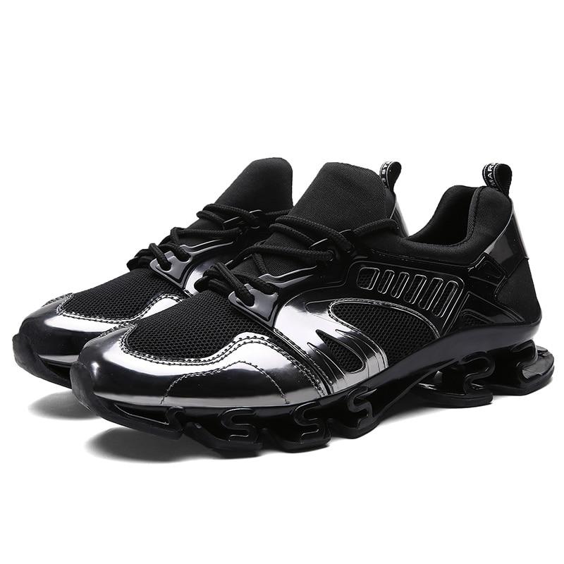 DQG Demping Heren hardloopschoenen Dames Ademend Mesh Heren Sportschoenen Platte jogging Lopers Sneakers Outdoor Wandelschoenen
