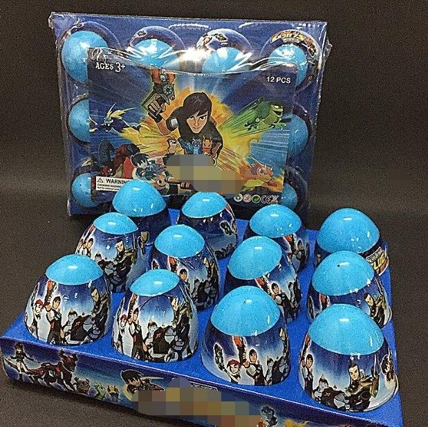 1pcs 8cm Slugterra 2 Capsule Ball Action Figure Doll Gift Ball Package PVC Slug Terra Model Kids Gift Slug It Ot