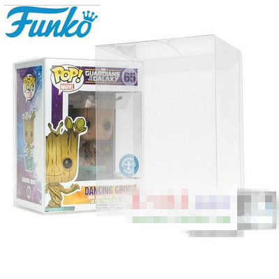 Brand New Made in German Original Case for Funko pop, 4 Non-toxic PVC POP PROTECTOR CRYSTAL CLEAR BOX, Figure Not Included
