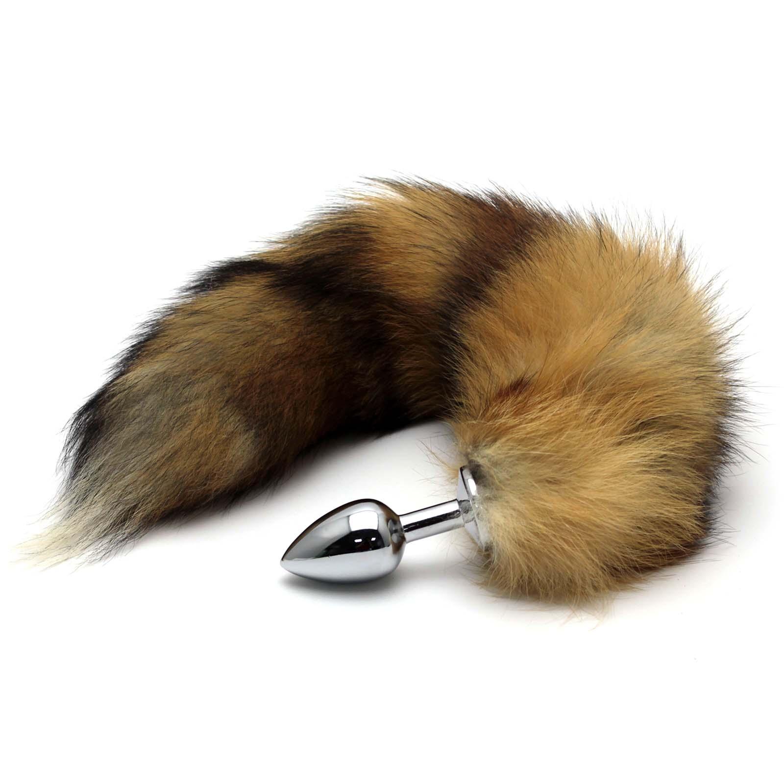 Aliexpresscom  Buy Massager Stopper Fox Tail Metal Toy -7992