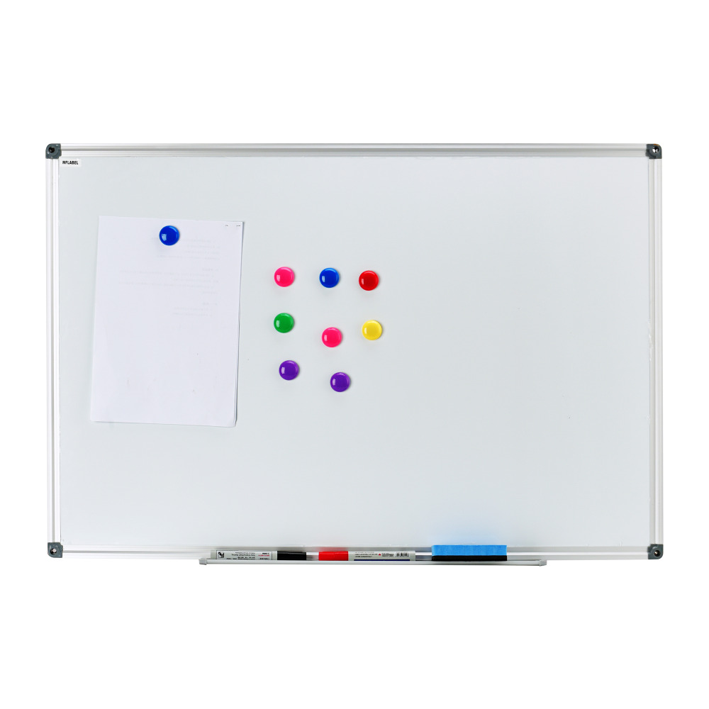 online buy wholesale magnetic whiteboard from china magnetic  - dry erase drywipe magnetic whiteboard xsilver aluminium frame cmxcm notice memo