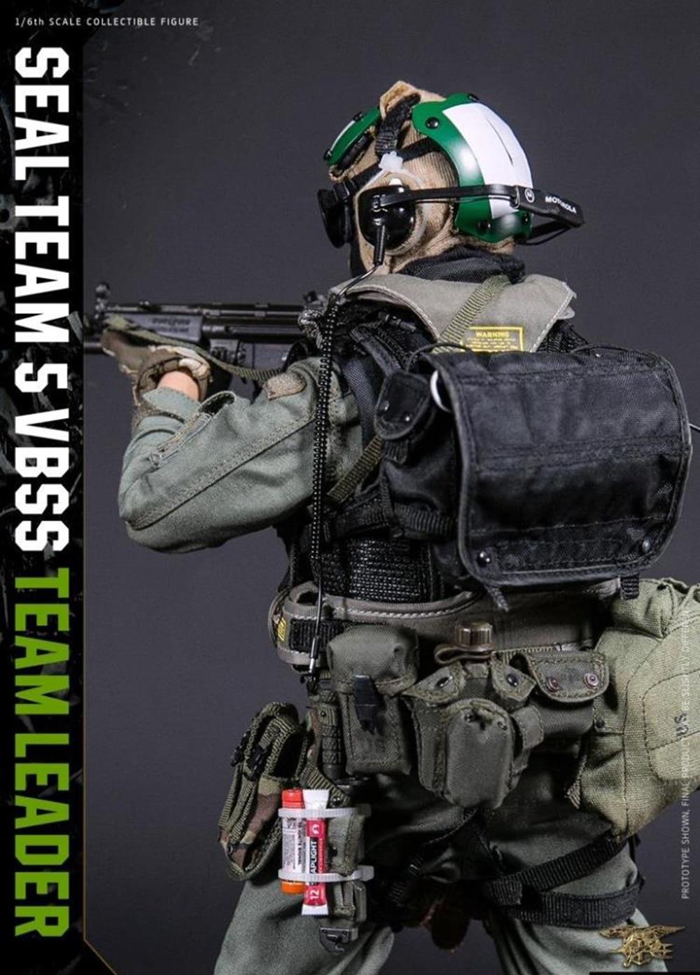 Damtoys Navy Seal Team 5 VBSS Team Leader nude body 1//6 toys Dam action figure