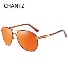 Мода негабаритных поляризованных солнцезащитных очков Для мужчин Элитный бренд вождения солнцезащитные очки Металлические оттенки UV400 люнет De Soleil Homme 8722