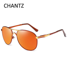 Fashion Oversized Polarized Sunglasses Men Luxury Brand Driving Sun Glasses Male Metal Shades UV400 Lunette De Soleil Homme 8722