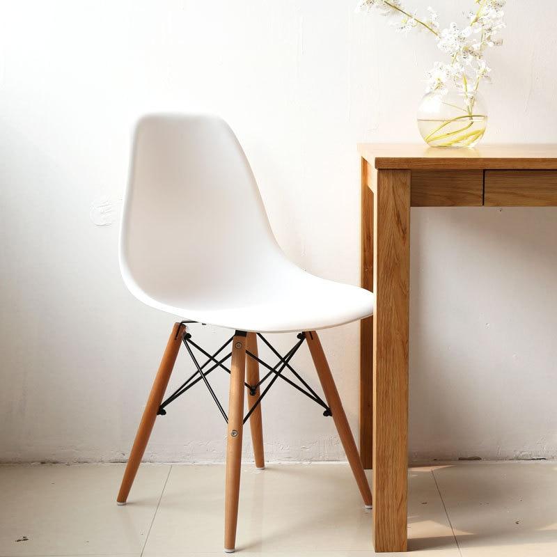 Eames sedia eames sedie di plastica ikea semplice piede for Sedie in legno ikea