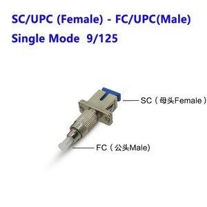 Image 4 - SC الإناث إلى ST الذكور موصل ألياف FC الإناث إلى الذكور LC محول بصري SC الإناث إلى LC الذكور موصل الألياف البصرية المقرنة