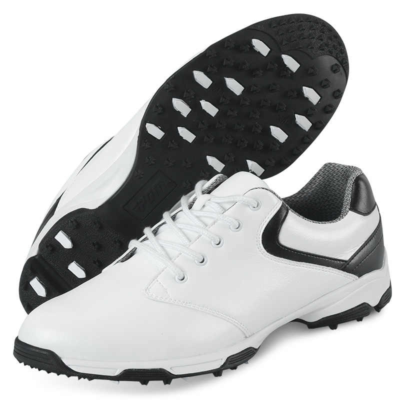 2017 גברים גברים נעלי ספורט נעלי גולף של אור אולטרה אלסטי EVA לנשימה עמיד למים (שחור)