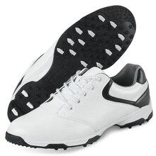2017 Men's Golf Shoe Sport Shoes Men Ultra Light Elastic EVA Breathable Waterproof (Black)
