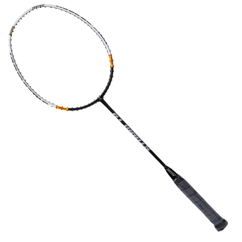 Super Light  Light Weight Badminton Racquet  Aerofoil Frame Sports Badminton Racket 100% Carbon Damping Handle Up to 26 pounds