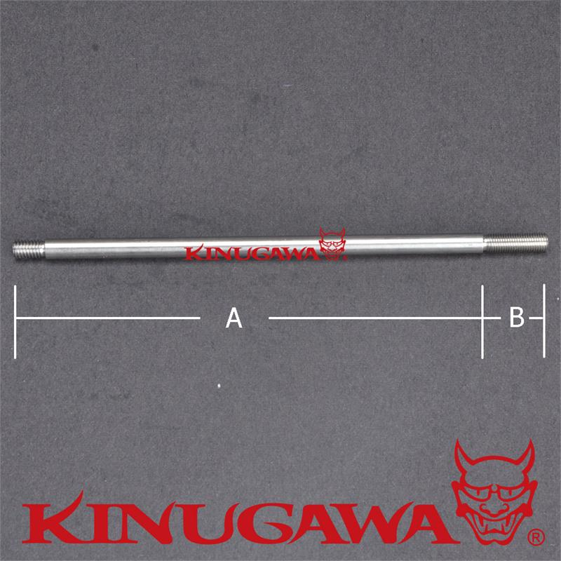 Kinugawa Adjustable Turbo Wastegate Actuator Rod 180mm Straight in Turbo Chargers Parts from Automobiles Motorcycles