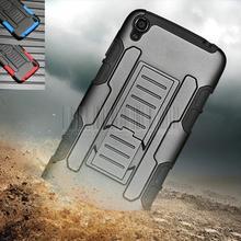 Heavy duty hybrid прочный case impact защитная крышка + зажим для ремня кобуру для alcatel one touch idol 3 5.5 дюймовый 6045 6045y 6045 К
