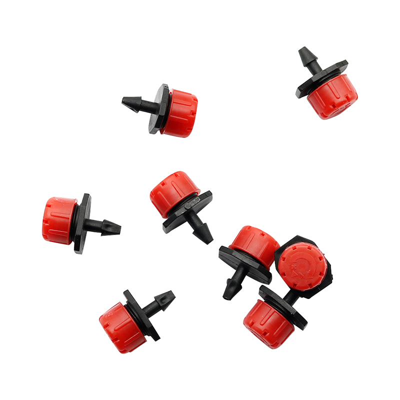 HTB1QTeofJbJ8KJjy1zjq6yqapXah 50 Pcs Adjustable Dripper Red Micro Drip Irrigation Watering Anti-clogging Emitter Garden Supplies for 1/4 inch Hose