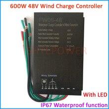 2019 New 300W 500W 600W 48V Waterproof Wind Turbine Generator Charge Controller Wind Power Generator Regulator Wind Controller