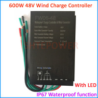 2019 New 300W 500W 600W 48V Waterproof Wind Turbine Generator Charge Controller Wind Power Generator Regulator Wind Controller