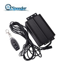 ESPEEDER Stainless Steel Boost Activated Exhaust Cutout System Electric Controller Vacuum Pump Valve Electric Air Pump Box