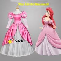 halloween costumes for women adult the little mermaid ariel princess cosplay costume Princess Ariel dress