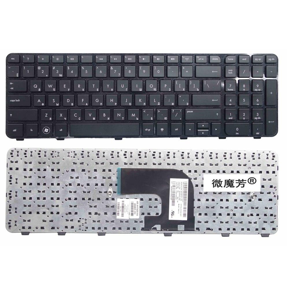 RU Black New FOR HP Pavilion DV6-7000 DV6-7100 7200 7001TX 7002TX 7002 7029 7031 7035 7100 DV6-7200  Laptop Keyboard Russian
